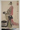 MRAH-JP.00010寛政06・・歌麿〈1〉「青楼十二時 続」「酉ノ刻」