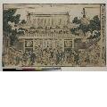 MRAH-JP.00034・・歌麿〈1〉「新板 浮絵金龍山二王門之図」