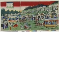 MRAH-JP.04635c「鉄道馬車往復京橋煉瓦造ヨリ竹河岸図」 ・・『』