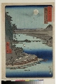 MRAH-JP.06282「六十余州名所図会」 「近江 琵琶湖石山寺」・・『』